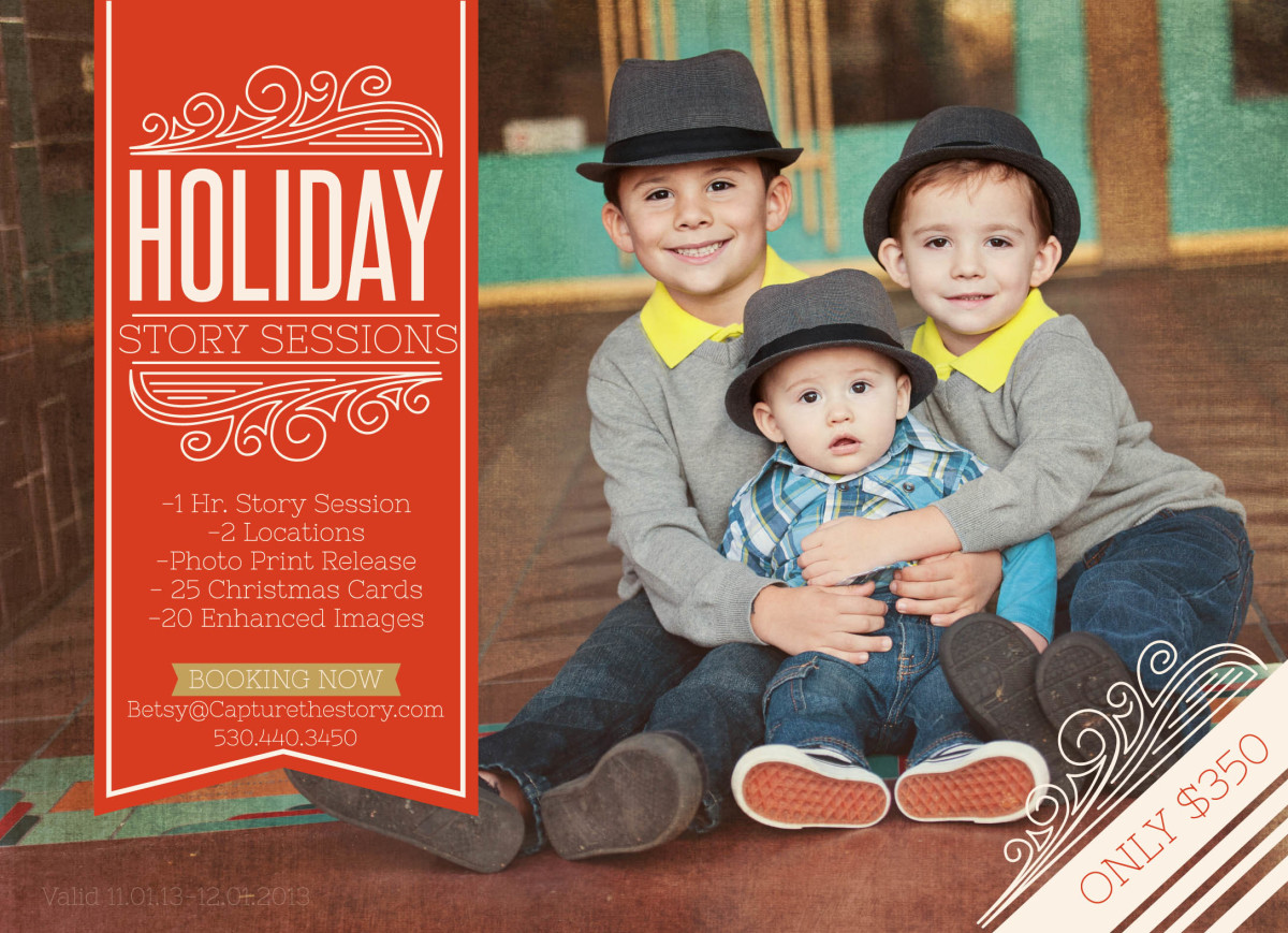 November Specials {Happy Holidays from Essence Photography}